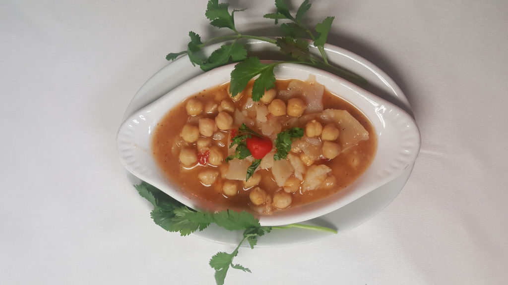 Shor Nakhud, garbanzo dish, afghan food
